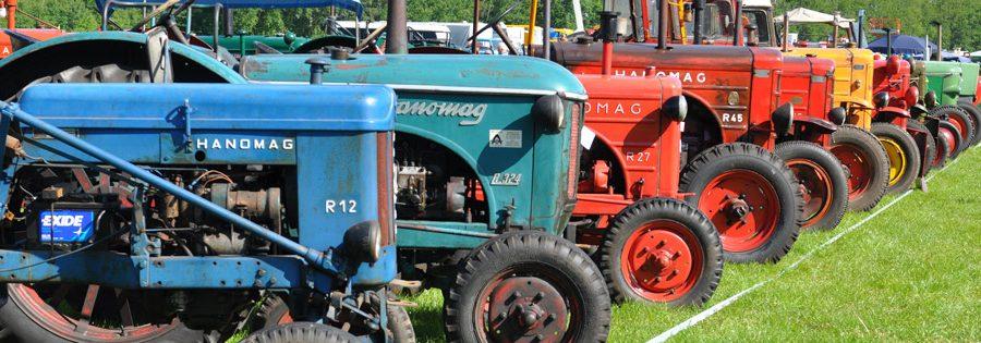 kenteken klassieke tractoren